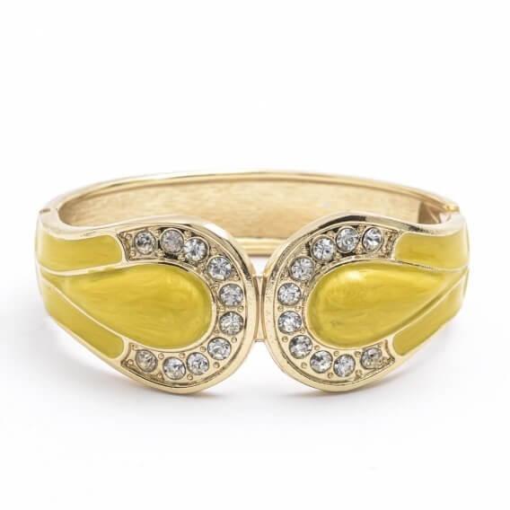טבעות יהלומים ואבני חן זהב צהוב בעיצוב מיוחד 0.88 קראט - לקסי