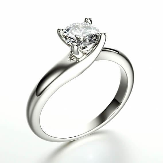 טבעת אירוסין סוליטר לולה   R100SD112N