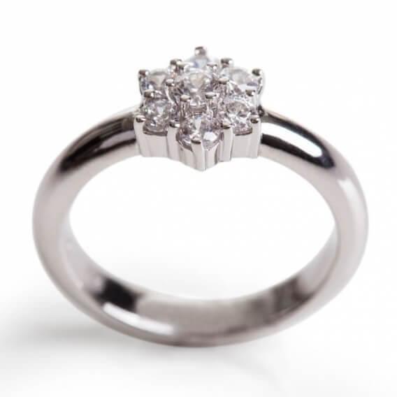 טבעת אירוסין יוקרתית סוליטר 0.32 קראט - ליב