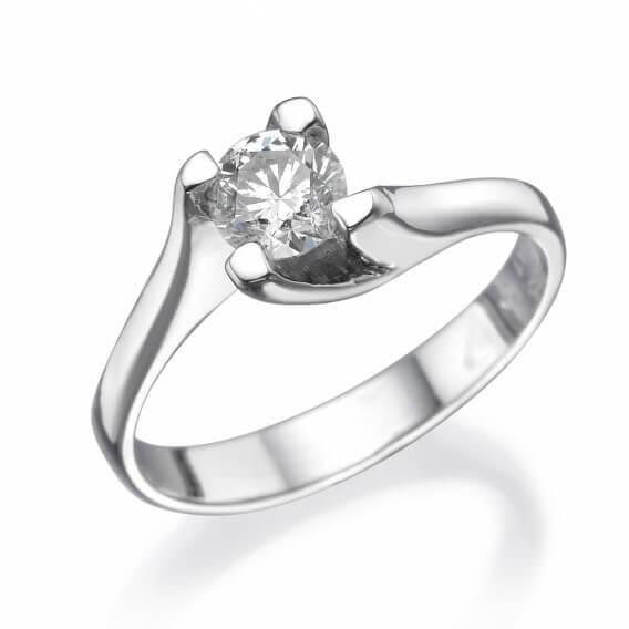 טבעת אירוסין סוליטר לינוי SD 282