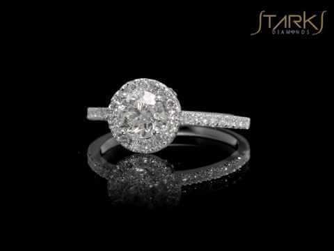 טבעת אירוסין קלאסית 1.01 קראט ורונה SD 252