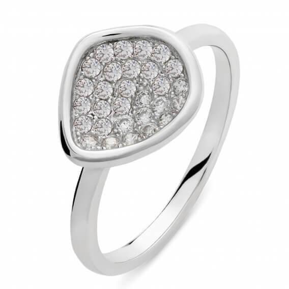 טבעת וינטאג' יוקרתית בשיבוץ יהלומים 0.42 קראט - נאיה