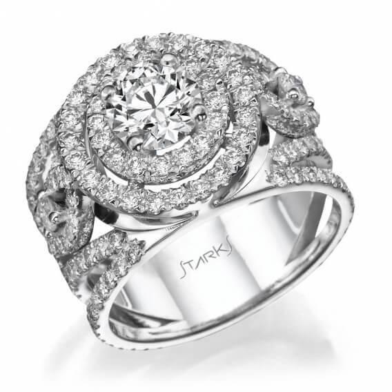 טבעת אירוסין וינטאג' יוקרתית ארין