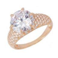 טבעת וינטאג' מפוארת בשיבוץ יהלומים וזהב דסטיני 2.28 קראט