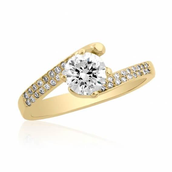 טבעת אירוסין וינטאג' מפוארת  אדיסון SD231