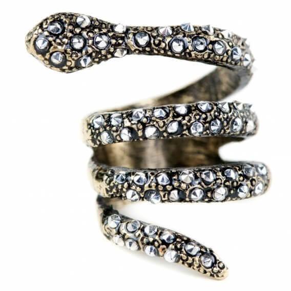 טבעת יהלומים וזהב בעיצוב מיוחד סינקיו 58 נקודות