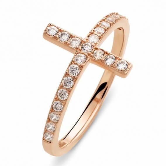 טבעת זהב צהוב מעוצבת משובצת יהלומים