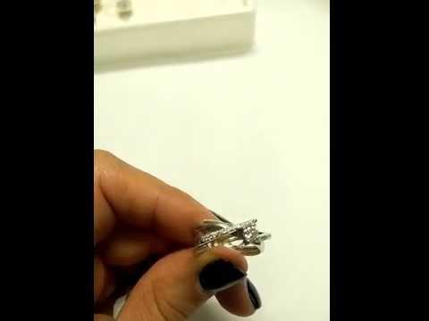 טבעת יהלום אלגנטית מעוטרת זהב צהוב דבי 33 נקודות
