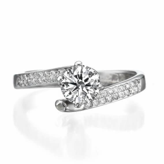 טבעת יהלום מיוחדת מעוצבת אליסון231 SD