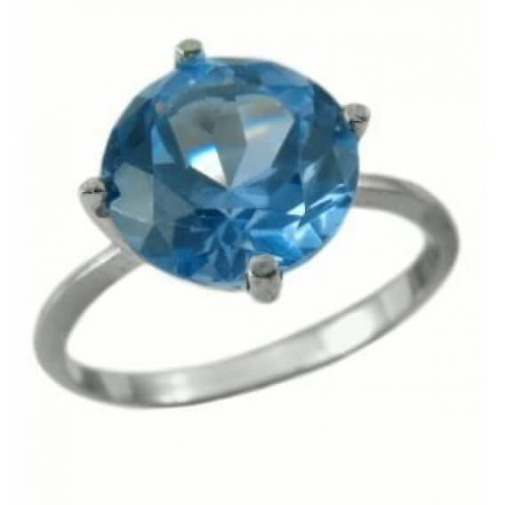 טבעת יהלום סוליטר זהב לבן 1.02 קראט - ג'וליה