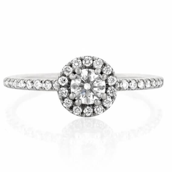 טבעת יהלומים יוקרתית מעוטרת זהב קאיסה