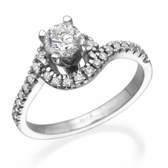טבעת אירוסין יוקרתית  - נילי
