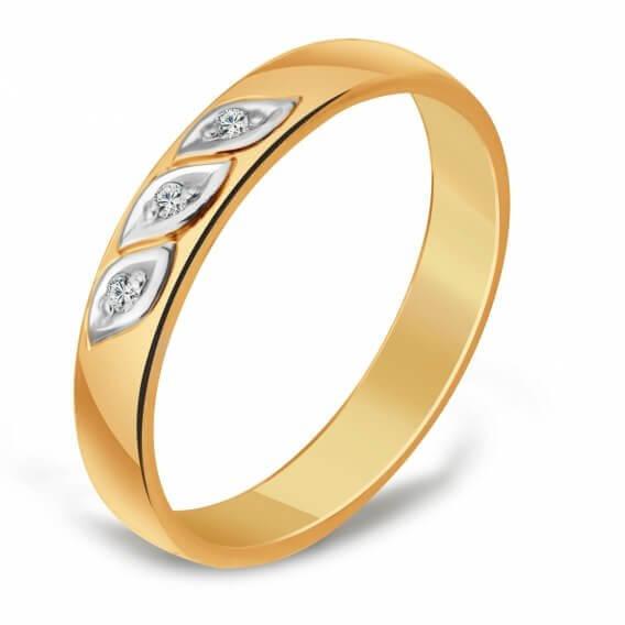 טבעת נישואין לגבר עם תוספת של יהלומים 0.32 קראט - ג'ייקוב