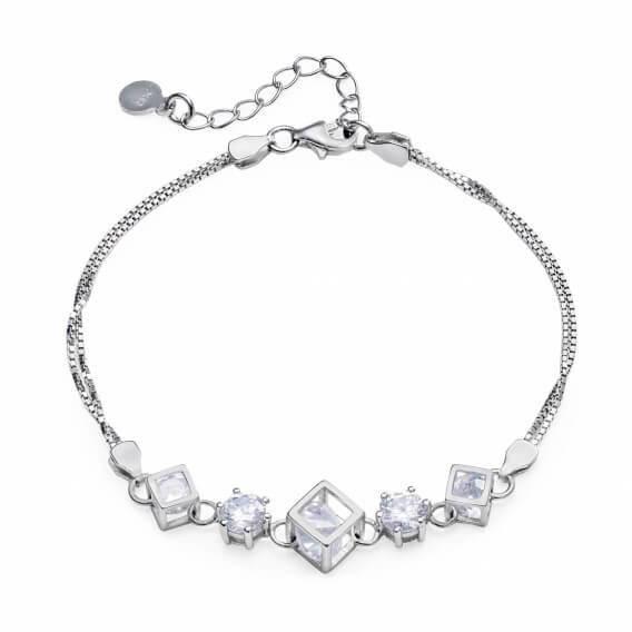 צמיד יהלומים בעיצוב מיוחד  קתרין  45 SD