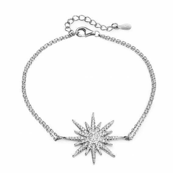 צמיד יהלומים כוכב - אנג'ל