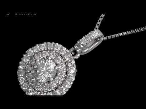 שרשרת יהלומים יוקרתית 74 נקודות אינפיניטי