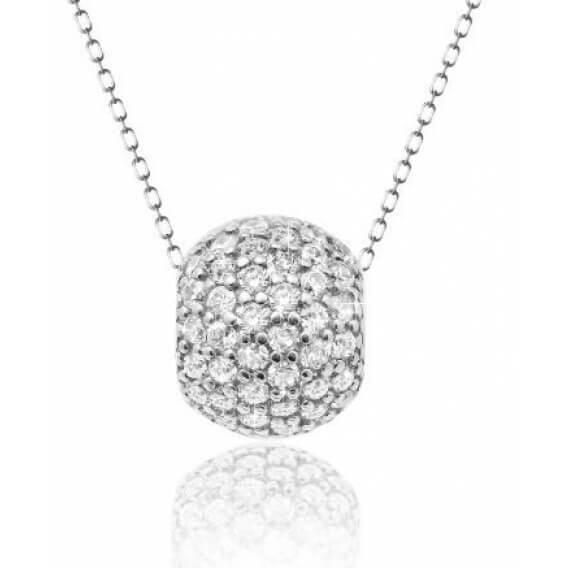 שרשרת יהלומים זהב לבן אמה 0.62 קראט