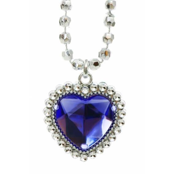 שרשרת יהלומים ואבן חן ספיר 1.86 קראט הלן
