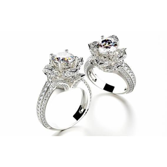 טבעת יהלום מיוחדת טיבריו 2.33 קראט