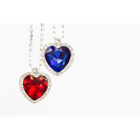 שרשרת יהלומים ואבן חן ורודה 1.86 קראט הלן