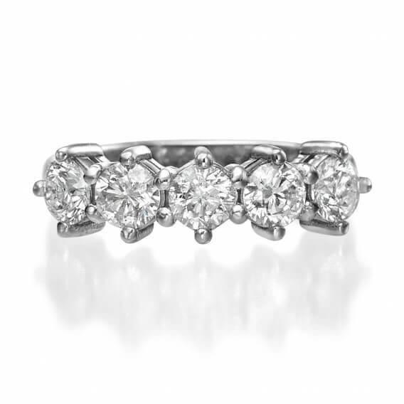 טבעת יהלומים סטלה 1.25 קראט