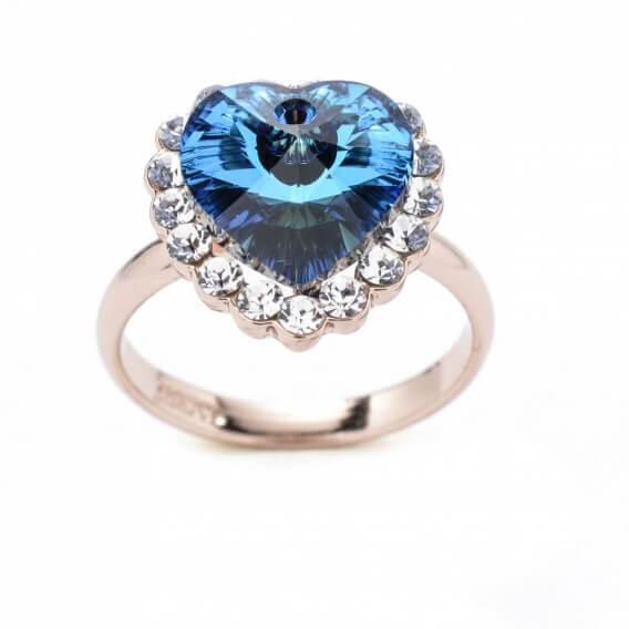 טבעת יהלומים עם אבן חן מרכזי 1.53 קראט - סופי