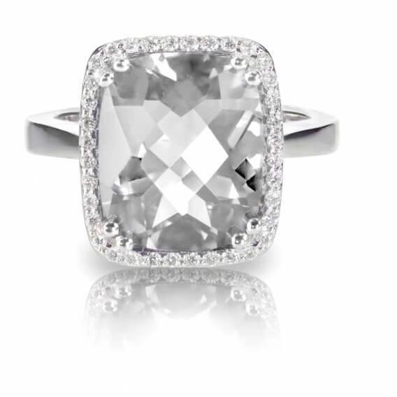 טבעת יהלומים ואבן חן 1.49 קראט - ליילה