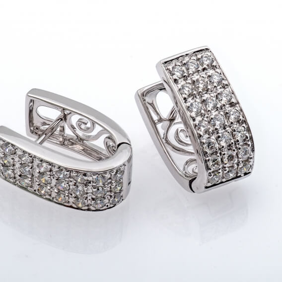 עגילי יהלומים איליי SD 240